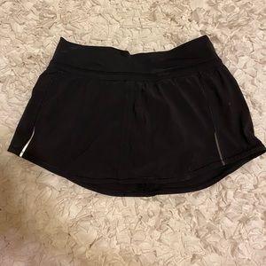 lululemon skirt with shorts